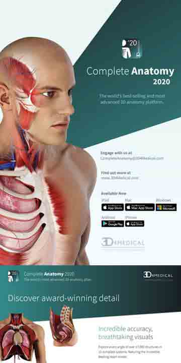 3d4medical - anatomy 2020